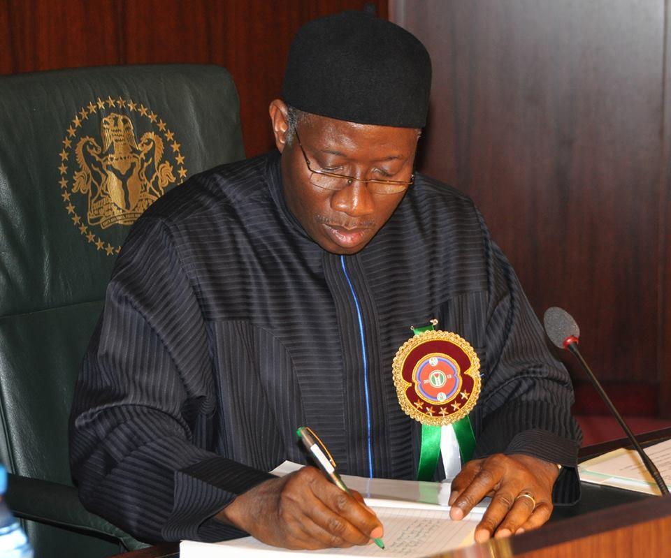 Jonathan as federal government