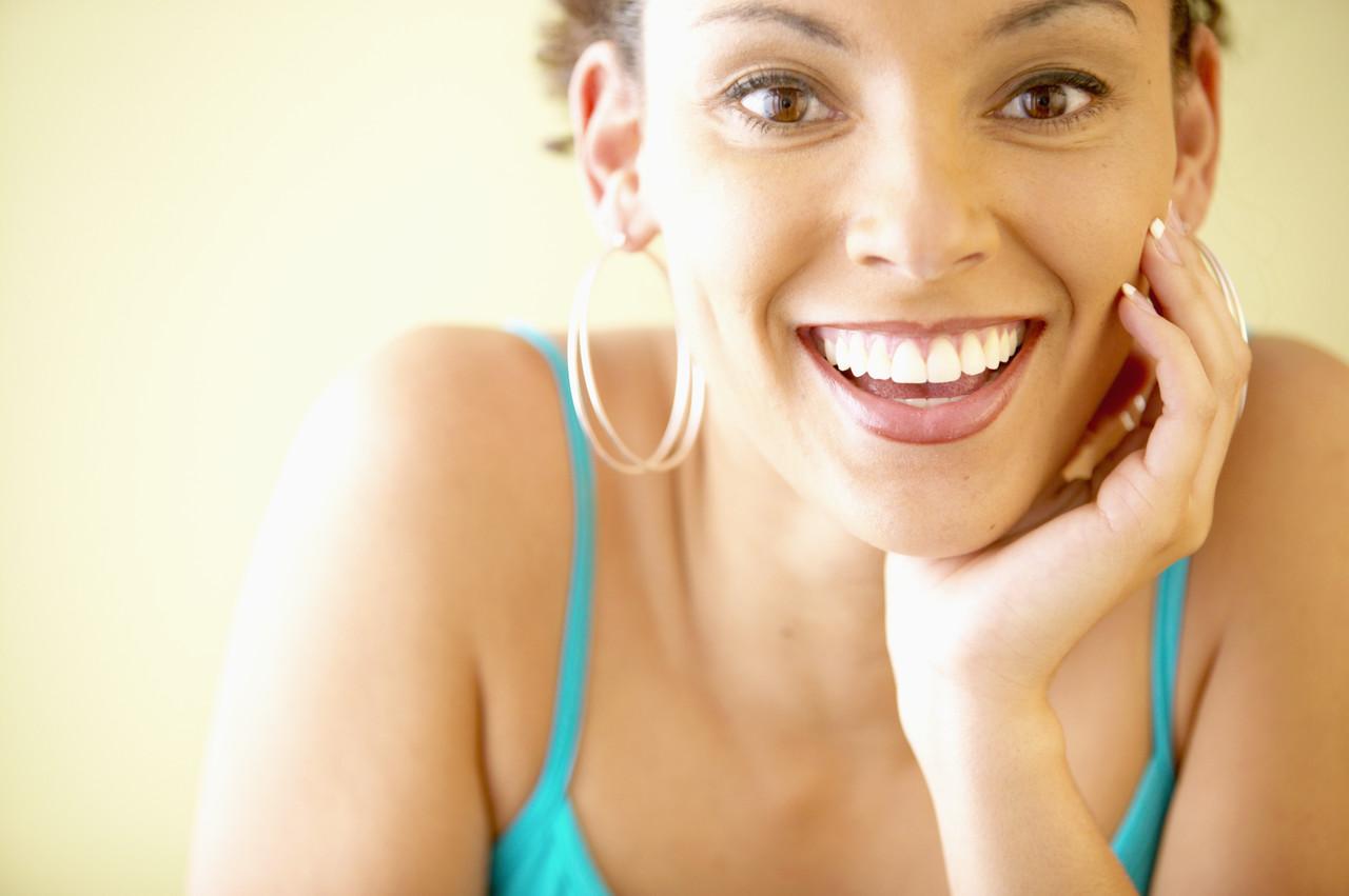 laughing black gal