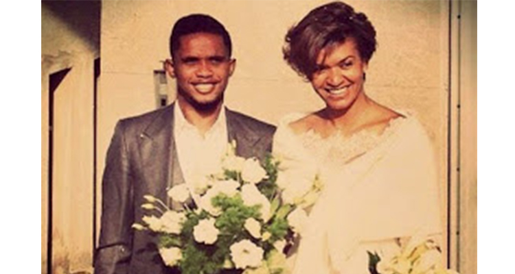 samuel eto marries secretly