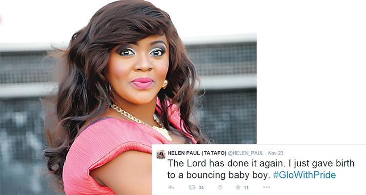 helen paul delivers baby boy