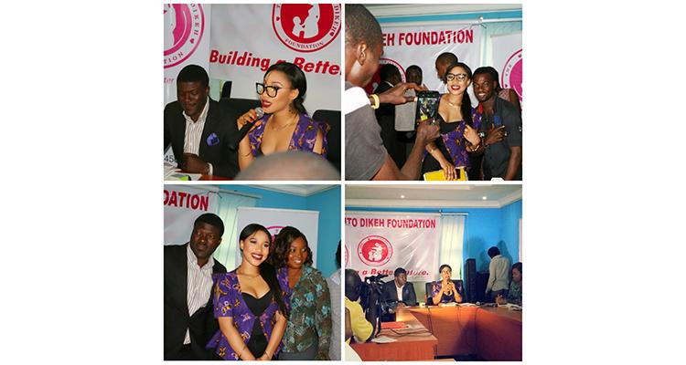 tonto dikeh launches foundation