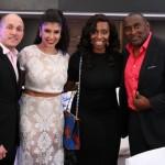 Ada-Ari Agbim, Stephanie Zayas, DJ Cannon, Ike Ogbuebile CEO of Encase Magazine