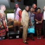 Tony & wife , GM Viva Cinemas (Ilorin and Ibadan), Mrs. Mary- OKUMA Film Distribution , Edward Stevenson - MD Tejuosho Market