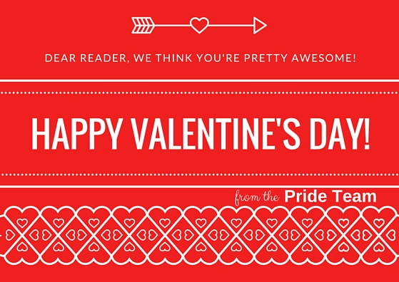 Dear reader, we think you're pretty awesome!