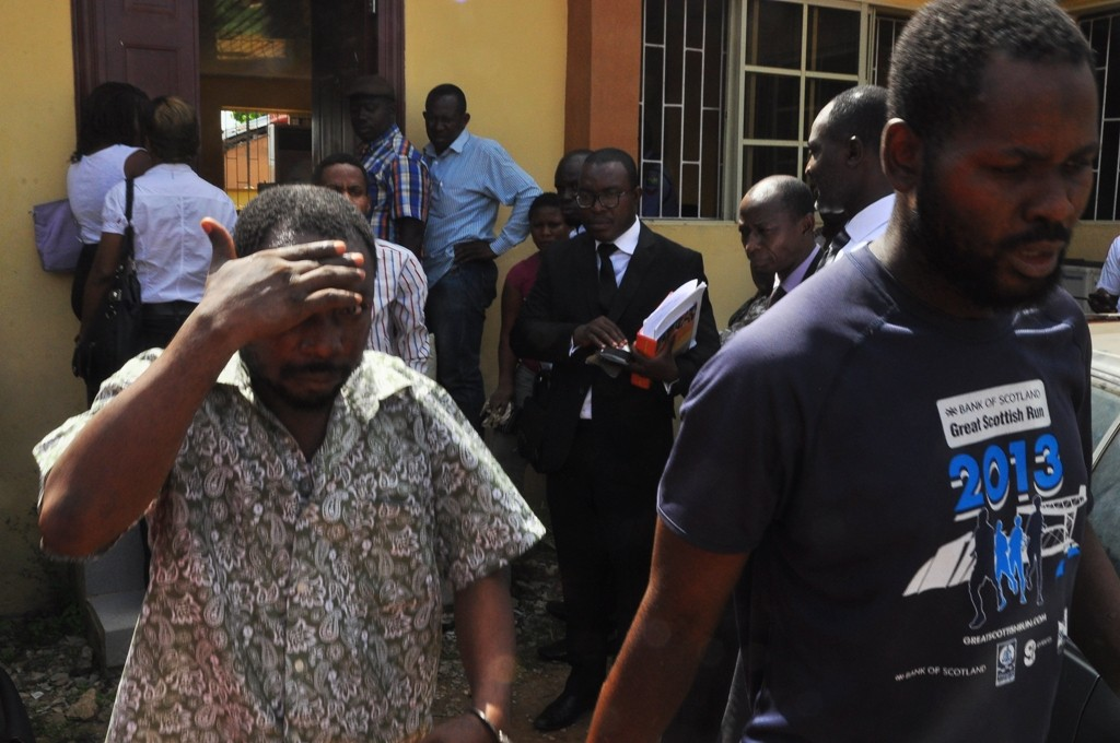 DSS arraigns two artisans for cloning Ambode's phone number