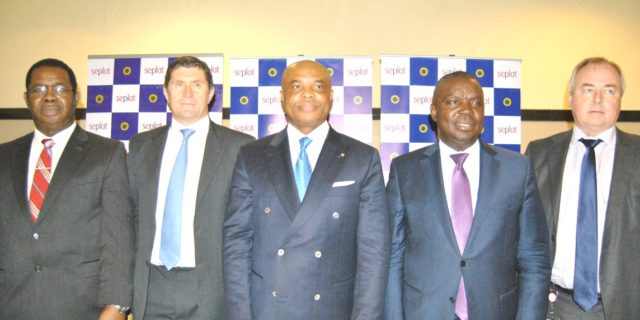 L-R: Non Executive Director, Seplat Petroleum Development Company Plc. Mr. Basil Omiyi; Chief Finance Officer Mr. Roger Brown; Chairman, Seplat, Mr. Ambrose Orjiako; Chief Executive Officer, Seplat, Augustine Ojunekwu; Chief Operating Officer, Seplat, Mr. Stuart Connal; during the 3rd Annual General Meeting of Seplat Petroleum Development Company Plc