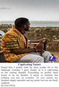Picture Poetry, Cmex D Poet, Cmex the Poet, Nigerian Poet, African Poetry, R&DG, Pride Magazine