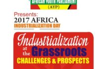 Africa Industralization Day 2017, Industralized Africa, African Youth Parliament, Grassroot challenges, Africa, AYP, World Instralization Day
