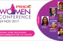 Pride Women Conference 2017, Pride, Pride Magazine, Pride Nigeria, Dr Sylva, Work, relationships and marriage in the 21st Century, women in Nigeria