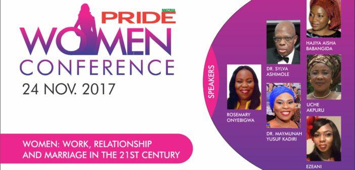 Pride Women Conference 2017, Pride, Pride Magazine, Pride Nigeria, Dr Sylva, Work, relationships and marriage in the 21st Century, women in Nigeria