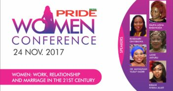 Pride Conference, Pride women conference, Pride Nigeria, Pride Magazine NIgeria, Pride Events, Babangida, Anyiam-Osigwe,