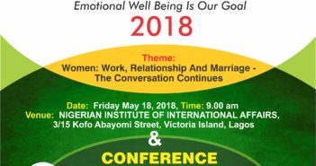 Work marriage and relationships in the 21st Century, Pride Magazine Nigeria Leisure and Lifestyle Magazine, Female emotional well being