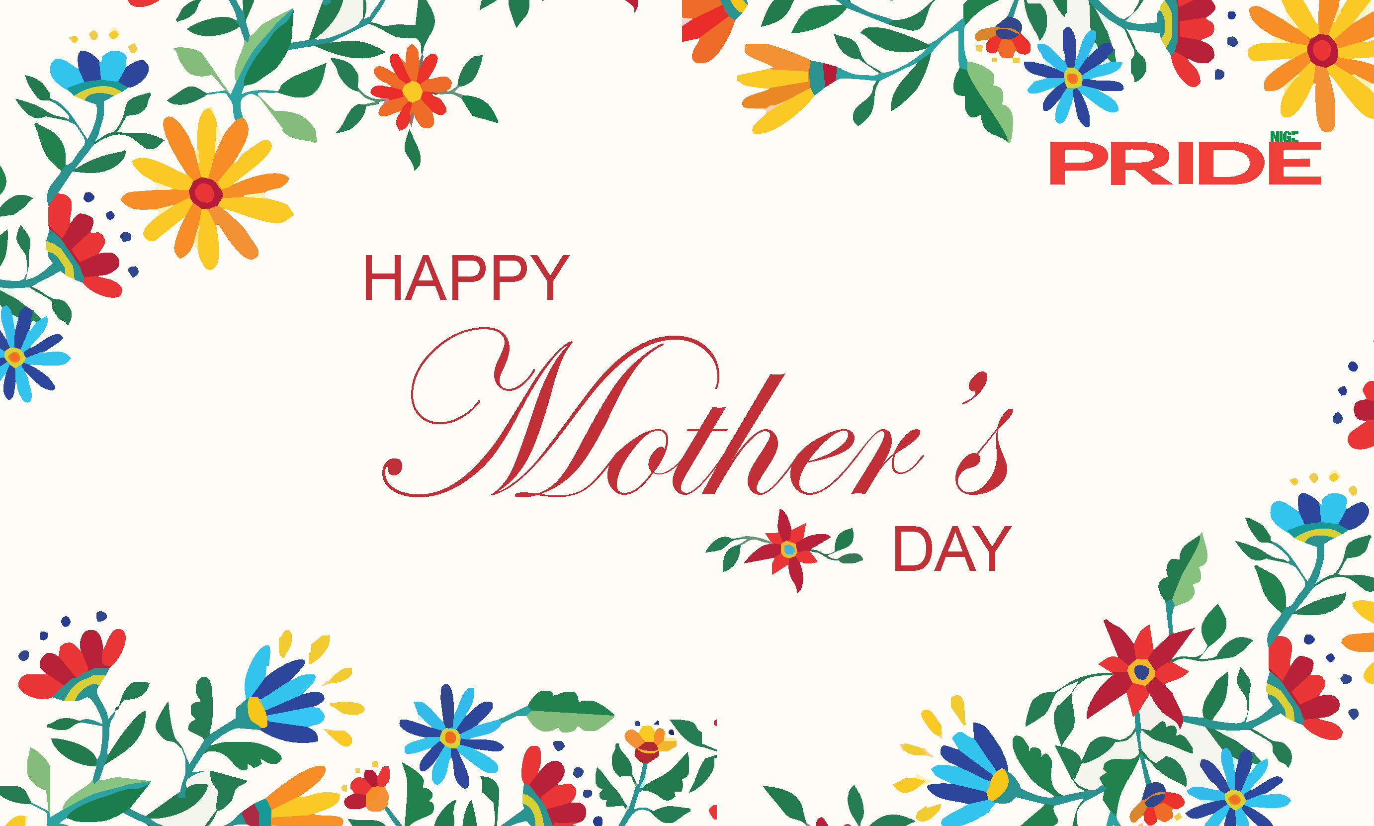 Happy Mothers Day From The Pride Team